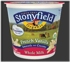 stonyfield whole milk
