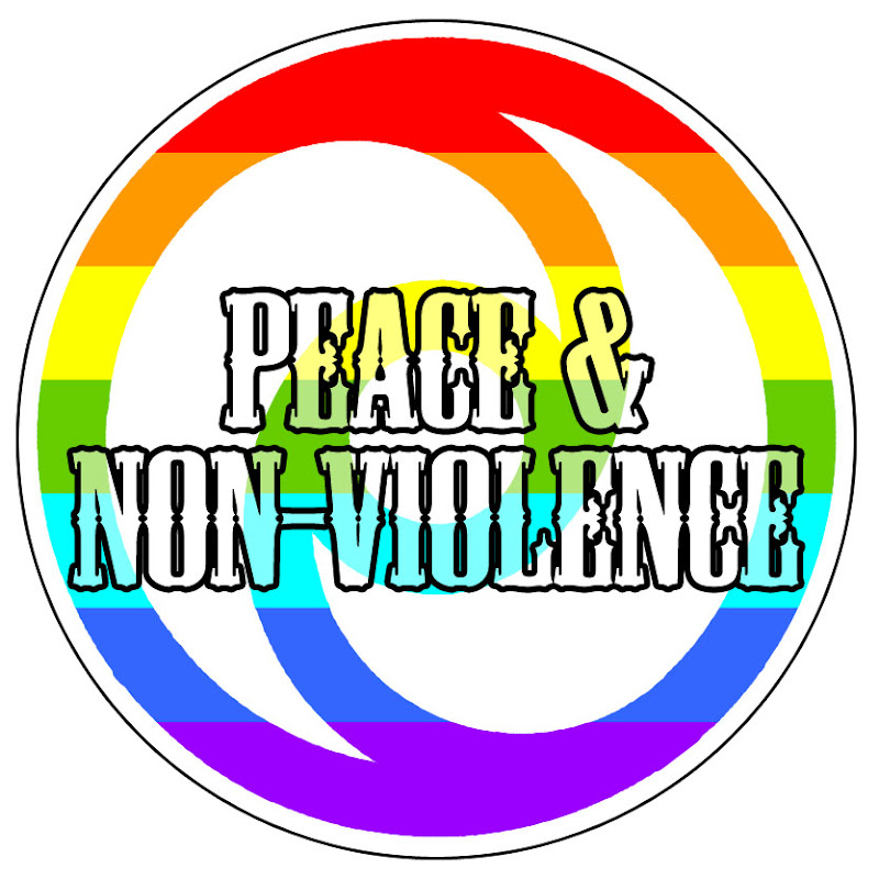 Symbol Of Active Non Violence Peace Non Violence Original Concept