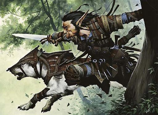 Zantar Wolf-friend   (Approved) Turntimber_ranger_art_by_wayne_reynolds