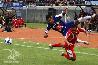 Wildansyah Persib vs PSPS 2009/2010