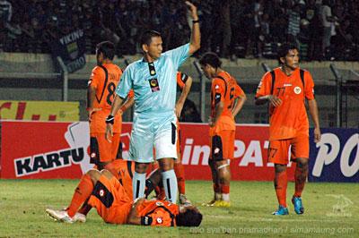 Yandri Persib vs Persisam 2009/2010