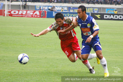 Atep Persib vs Bontang FC 2009/2010
