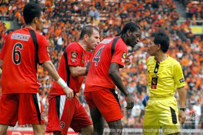 Abanda Herman Persija vs Persib 2009/2010