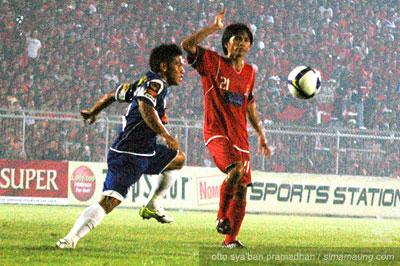 Eka Ramdani Persijap vs Persib 2009/2010