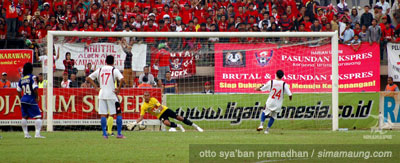Markus Pelita Jaya vs Persib 2009/2010
