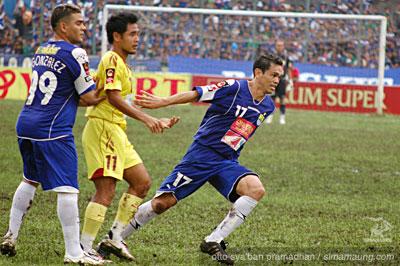 Rene Martinez Persib vs Sriwijaya FC 2009/2010