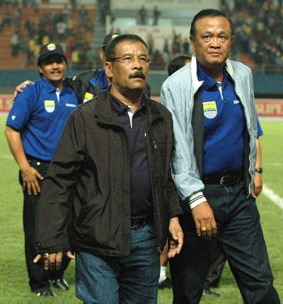 Umuh Muhtar Sriwijaya FC vs Persib