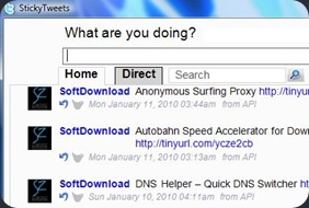 StickyTweets Open Source Twitter Client