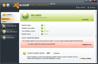 Avast! Free Antivirus 5 Download