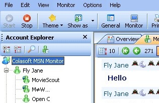 Unipeek MSN Monitor