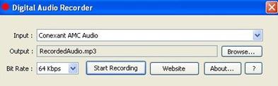 Free Digital Audio Recorder