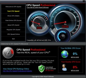 Use CPU Speed Professional