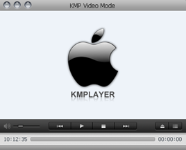 KMPlayer  Skin:MAC Skin