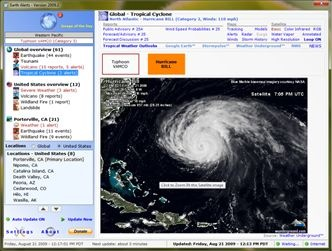 Earth Alerts – Get Weather and Earthquake Information