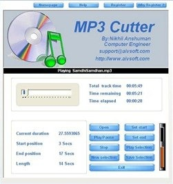 Free MP3 Length Cutter
