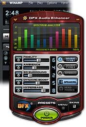 Free DFX Winamp Audio Enhancer