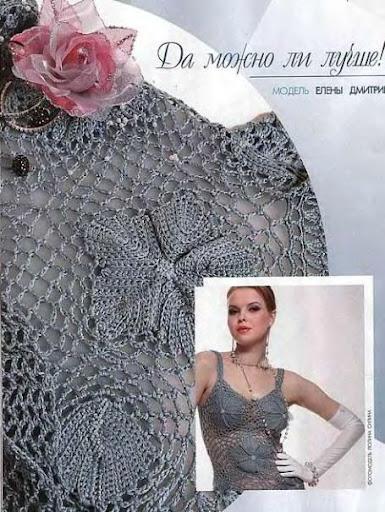 COMPTE_BLOGOF andreiatur : croche com a natureza, blusas de croche com grafico