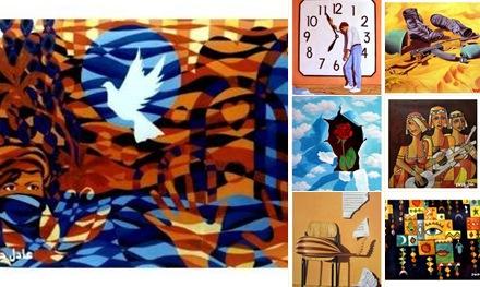 View لوحات للفنان عادل جربوع