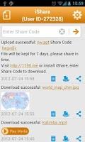 Screenshot of iShare