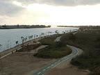 Vistes des d'un mirador del Garxal, a la punta del delta