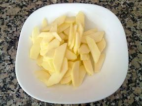 Tallem la poma a làmines fines