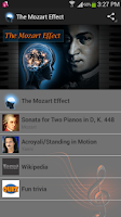 Screenshot of The Mozart Effect