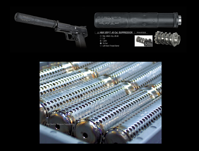 Airsoft Guns, National Firearms Act Silencer, Knights Armament Co,M4 Suppressor, M16 Suppressor,Airsoft Suppressor, Airsoft silencer,NFA, Airsoft AEG,  pyramyd air