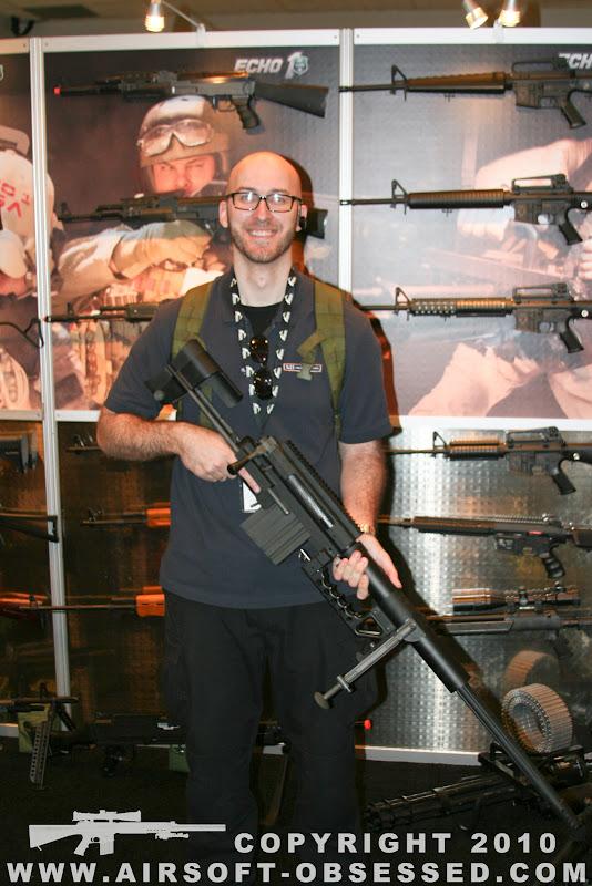Airsoft Guns, Shot Show 2011 Coverage, Las Vegas, Jag Precision, SOCOM Gear Cheytac M200 Intervention Airsoft Sniper Rifle, Gas-powered Airsoft sniper rifle,Airsoft sniper rifle, gas sniper rifle,m200,Pyramyd Air, Pyramyd Airsoft Blog, Airsoft Obsessed, Airsoft Blog,