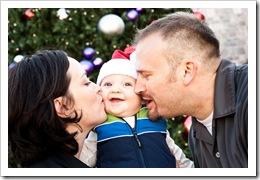 Bev's photo - family, 12-13-09