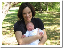 Mommy & Reid at the park.
