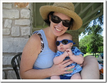 Momma & Reid, 6-12-09