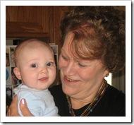 Reid loves Aunt Karen, 9-5-09