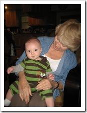 Gran giving Reid some love 10-9-09