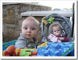 Reid & Ava - 6 1/2 months old