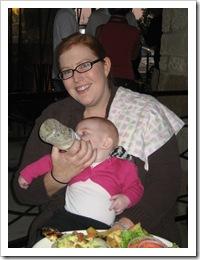 Susan & Ava, 10-16-09