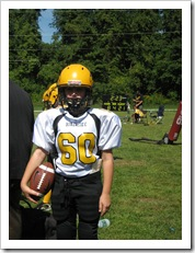 Will at his football game