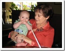 Aunt Mary Pat & Reid, 9-11-09