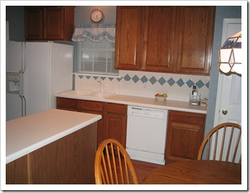 Kitchen - pre-sale, Oct. 2004