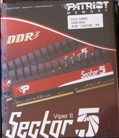 sector 5 viper ii ddr3 4gb
