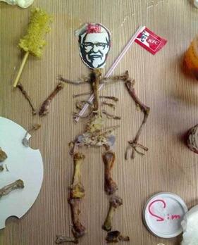 kfc bone art1