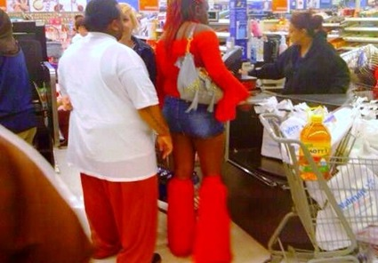 weird people walmart 22