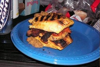 Jabaconageburger with cheese
