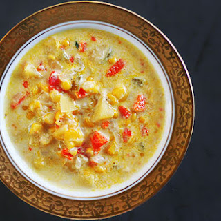 Red Bell Pepper Corn Chowder Recipes
