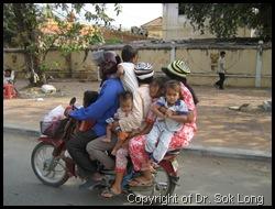 Cambodia Motobus