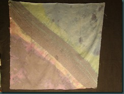Radiance, pleated and vat dyed