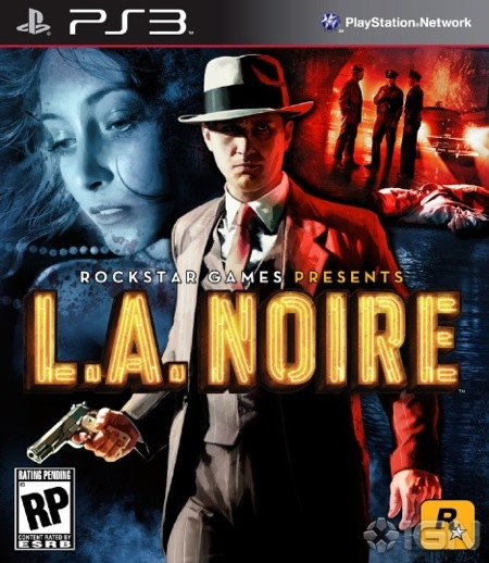 La noire official cover art major geek nerd upcoming video game blog gaming