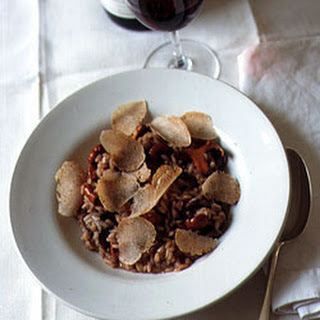 Wild Mushroom Risotto with White Truffles