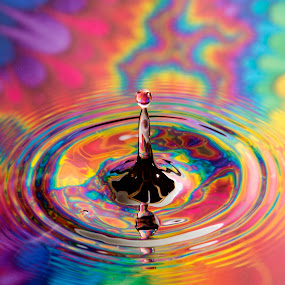 The Sweetness of My Country by Ari Wid - Abstract Water Drops & Splashes