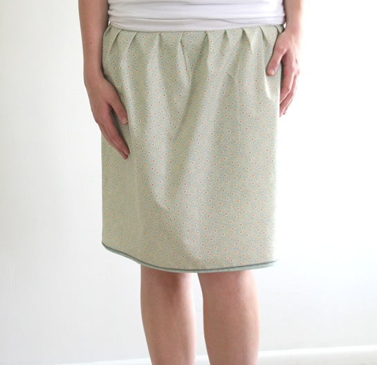 crafts for summer: the t-band skirt tutorial, sewing pattern