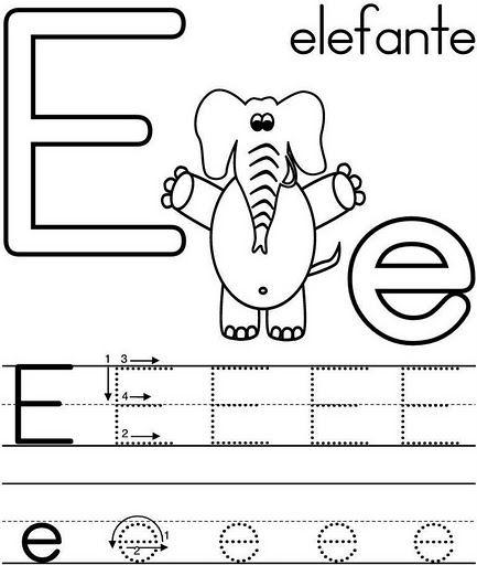 El arte de enseñar: Letra E